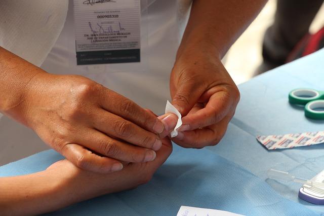 trabajar de enfermera
