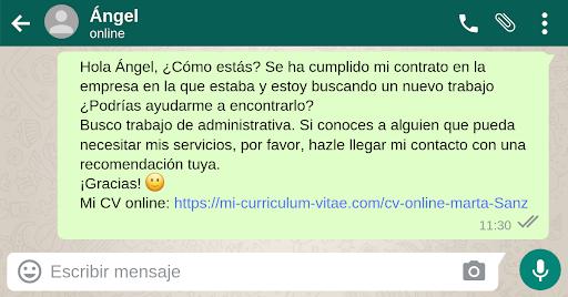 Cómo usar WhatsApp para encontrar trabajo