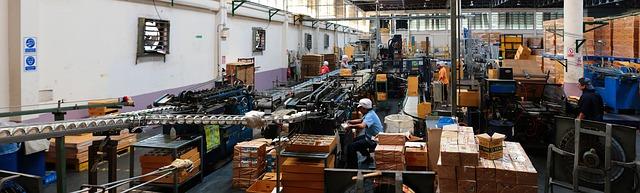 trabajo operario fabrica